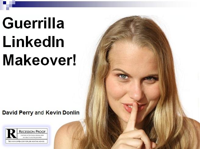guerrilla linkedin makeover